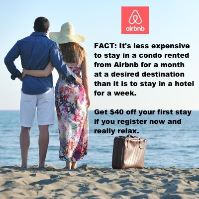 Airbnb discount offer