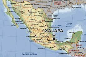 Where is Xalapa map