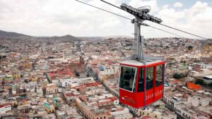 el teleférico de Zacatecas