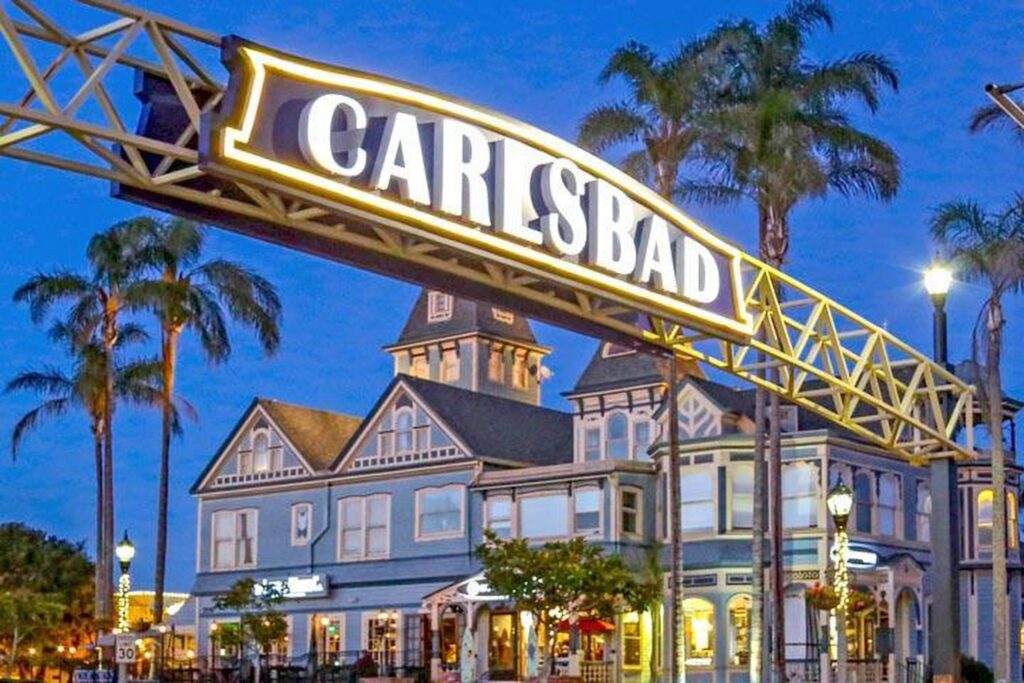 Carlsbad, CA is a top 20 summer vacation in usa