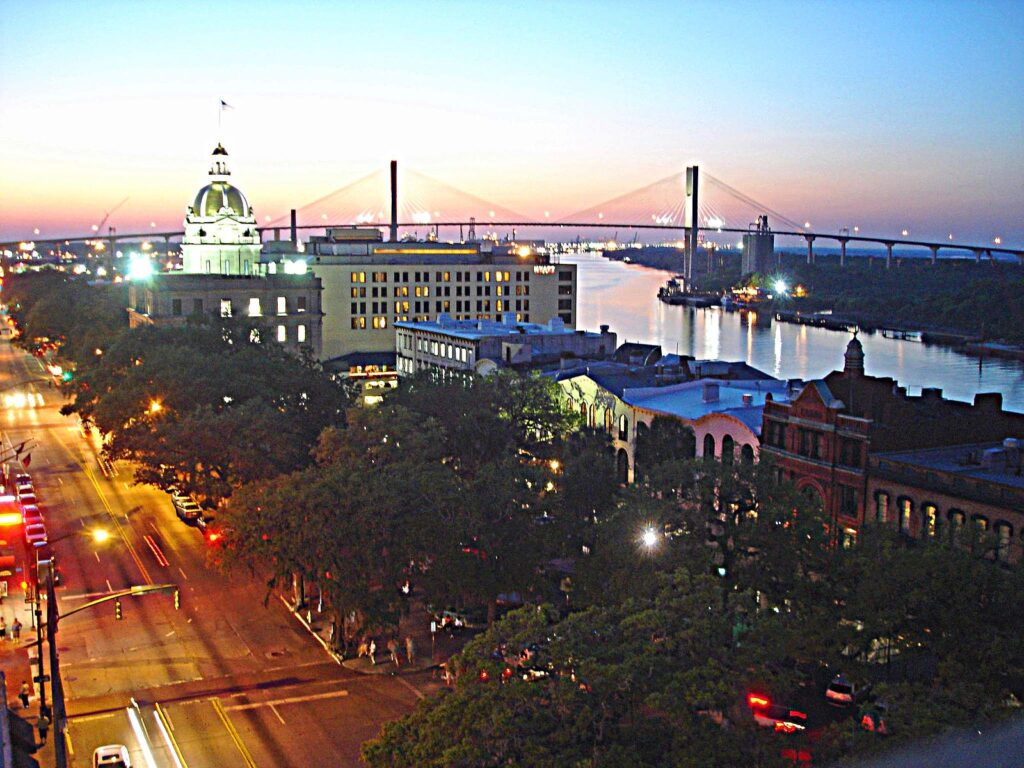 savannah, Georgia is a top 20 summer vacation in usa