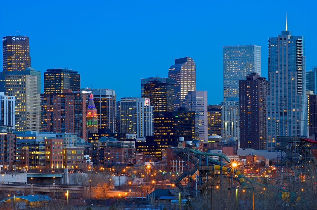 Denver, Colorado is a top 20 summer vacation in usa