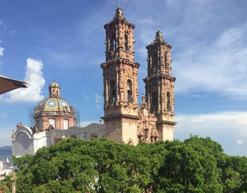 Taxco, Mexico - home of Taxco Silver