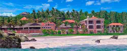 Hotel Sante Fe Puerto Escondido is right on Playa Zicatela